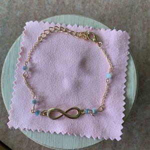 Jewelry - Infinity symbol bracelet with adjustable clasp